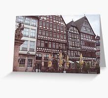 Frankfurt, Germany Greeting Card