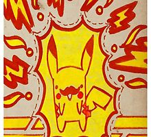 Exploding Pikachu by kluuuajak2015