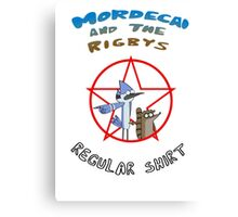 the regular show mordecai and the rigbys Canvas Print