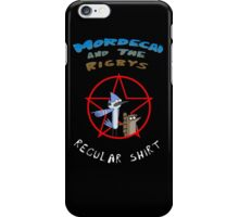 the regular show mordecai and the rigbys iPhone Case/Skin