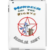 the regular show mordecai and the rigbys iPad Case/Skin