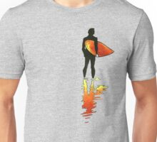 Surfing - Red Unisex T-Shirt
