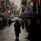Rainy day in Hiroshima by colinrac