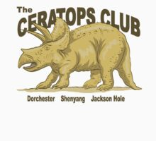 The Ceratops Club by MacKaycartoons