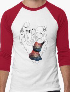 Galaxy Gum  Men's Baseball ¾ T-Shirt