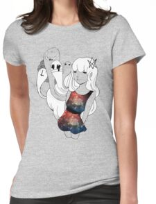 Galaxy Gum  Womens Fitted T-Shirt