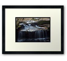 Rock Bridge Falls Framed Print