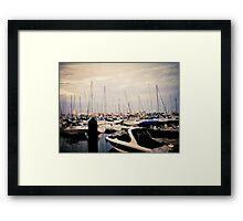 Harbor (1) Framed Print