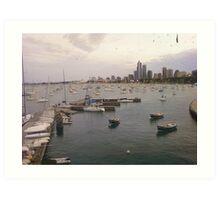 Harbor (2) Art Print