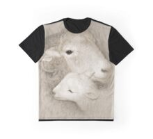 Ewe and Her Lamb Graphic T-Shirt