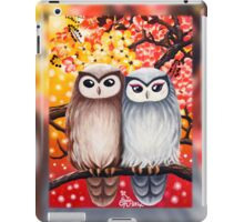 Cute Owls: iPad 2/ iPad (Retina Display) case iPad Case/Skin
