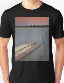 Sunset on the lakes of Mantua T-Shirt