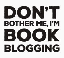 Don't Bother Me, I'm Book Blogging - Green Kids Tee