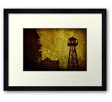 Diminished Dawn Framed Print