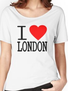 I love London Women's Relaxed Fit T-Shirt