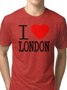 I love London Tri-blend T-Shirt