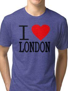 I love London Tri-blend T-Shirt