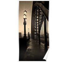 Vintage Tyne Bridge Poster