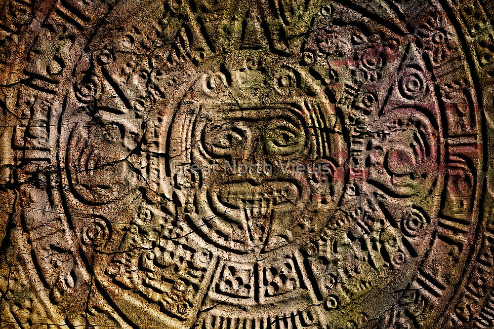 Mayan Calender by Great North Views