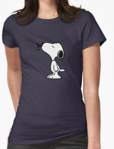 Snoopy! Womens Fitted T-Shirt