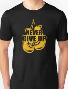 Never Give Up Appendix Cancer Awareness T-Shirt