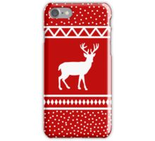 Deer Winter Jumper iPhone Case/Skin