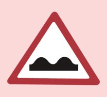 Road Sign - Uneven Road by MelTho