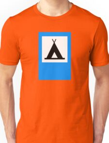Camping - Road Sign Unisex T-Shirt
