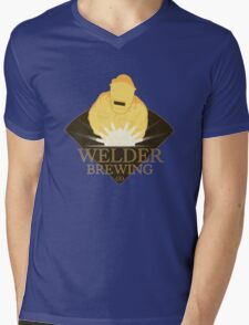 Welder Brewing Co Mens V-Neck T-Shirt
