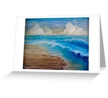 Summer Surf Greeting Card