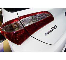 Hyundai HB20 Back Light [ Print & iPad / iPod / iPhone Case ] Photographic Print