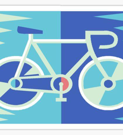 Road Bike T Shirt Sticker