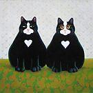 Eric&Shaun (pre-neutered) by vickymount