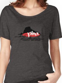 piha / lion  rock surf  Women's Relaxed Fit T-Shirt
