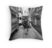 CITY BEAT Throw Pillow