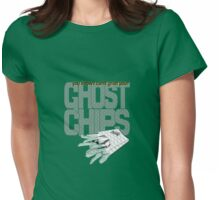 ghost chips Womens Fitted T-Shirt