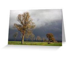 Dark Sky Greeting Card