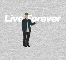 oasis - noel gallagher holding Live Forever by ecchy
