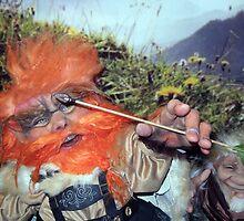 Sindri, the Archer by Fantasiation