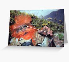 Sindri, the Archer Greeting Card