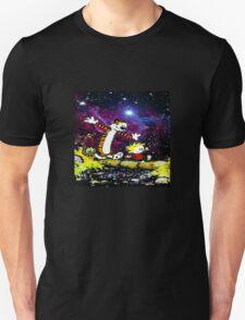 Calvin and hobbes happy Christmas T-Shirt