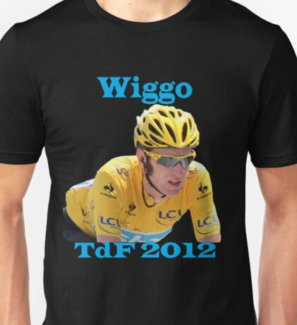 Bradley Wiggins - Tour de France 2012 Unisex T-Shirt