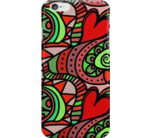 hearts oh my iPhone Case/Skin