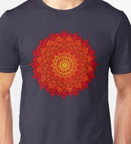 okshirahm rose mandala Unisex T-Shirt