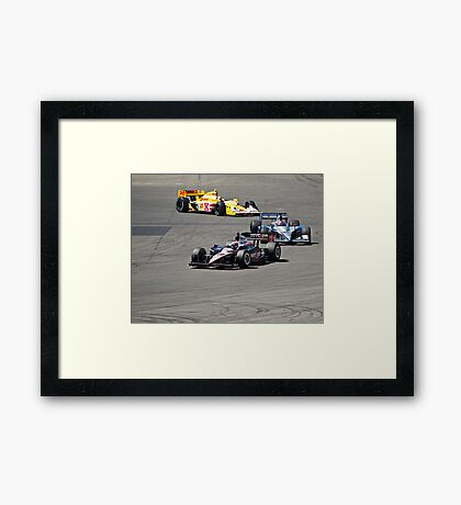 Competition in Turn 8 II Framed Print