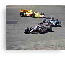 Competition in Turn 8 II Canvas Print