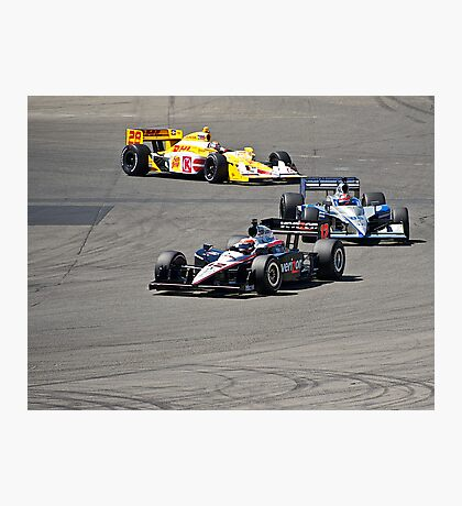 Competition in Turn 8 II Photographic Print