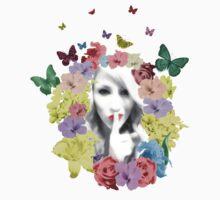 Secret Garden in Bloom T Shirt by Fangpunk