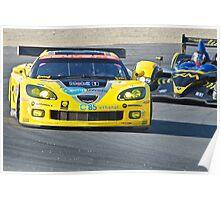 Corvette LeMans GT Poster