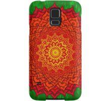 okshirahm rose mandala Samsung Galaxy Case/Skin
